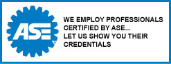 At Grandview Tire & Auto - Vernon We Employ Technicians Certified by ASE...  Let us Show You Their Credentials.