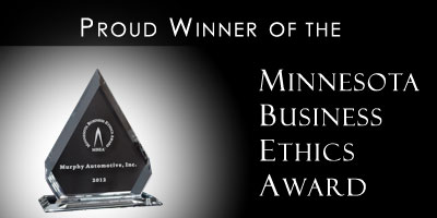 MN Business Ethics Award winner.